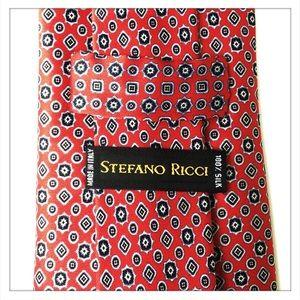 Stefano Ricci Geometric Dots Diamonds Tie